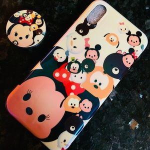 Accessories - iPhone X/XS tsum tsum Case